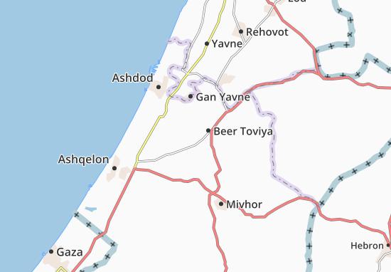 Mapas-Planos Kefar Warburg