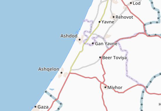Carte-Plan Bet 'Ezra