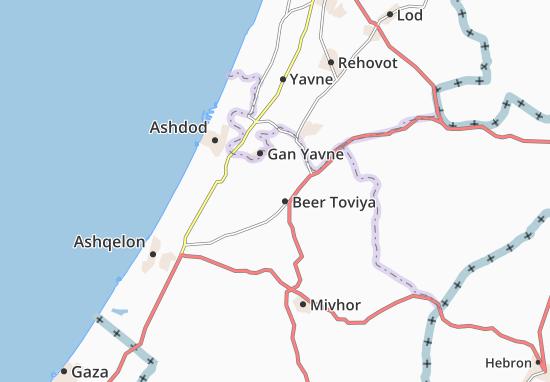 Kaart Plattegrond Orot
