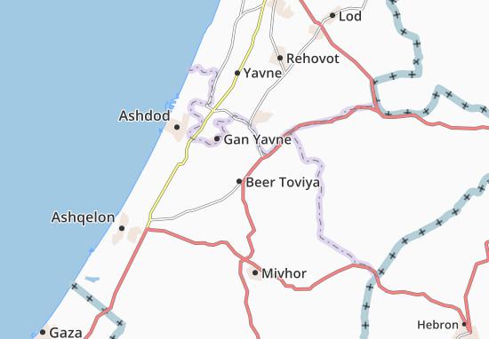 Kefar Ahim Map