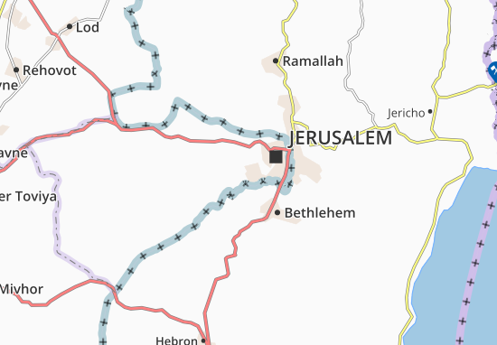 Qiryat Menahem Map