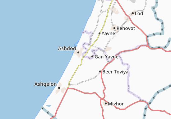 Carte-Plan Shetulim