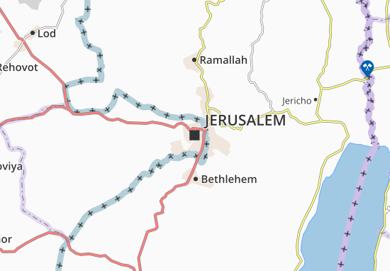 Map of Jerusalem Michelin Jerusalem map ViaMichelin – Tourist Map Of Jerusalem