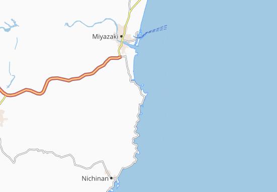 Carte-Plan Oryuzako