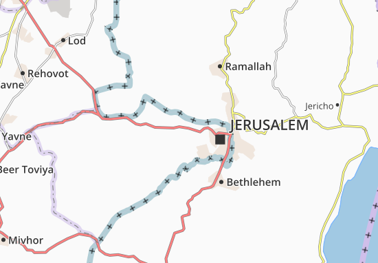 Ma'Oz Ziyyon Map