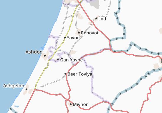 Mapas-Planos Yad Binyamin