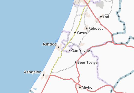 Mapas-Planos Gan Hadarom