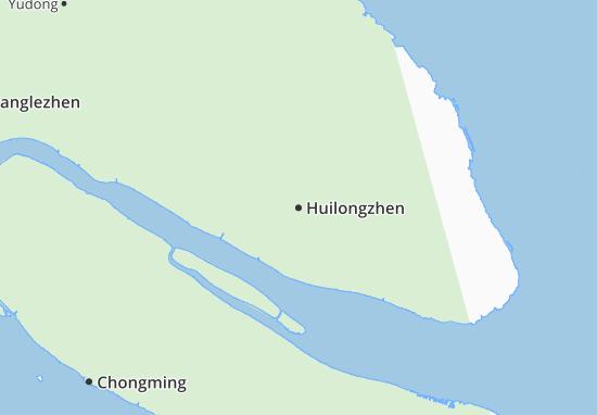 Huilongzhen Map