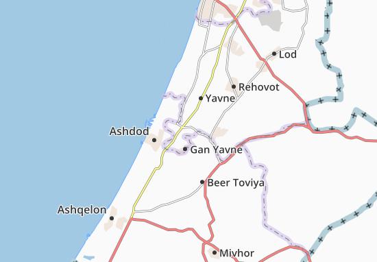 Mapas-Planos Qevuzat Yavne