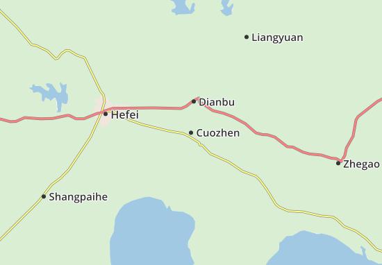 Cuozhen Map