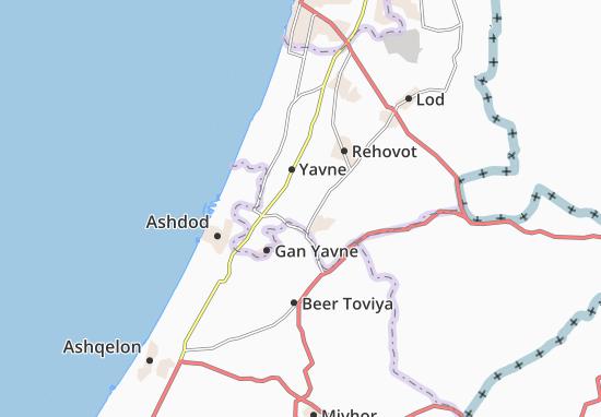 Mapas-Planos Kefar Mordekhay