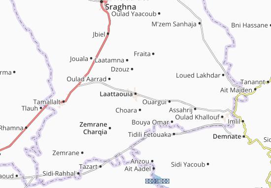 Carte-Plan Laattaouia
