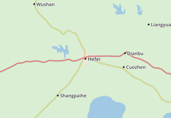 Hefei Map