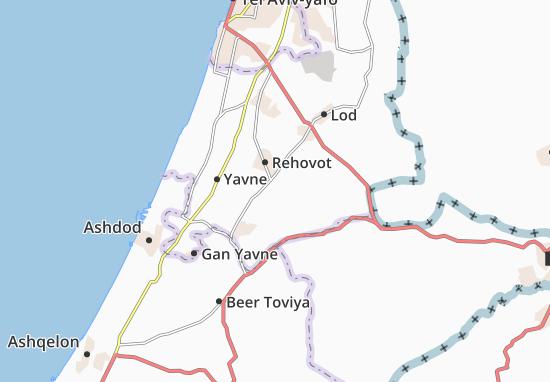Mappe-Piantine Qiryat Eqron