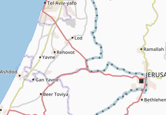 Mishmar Ayyalon Map