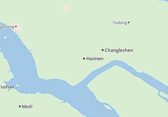 Haimen Map