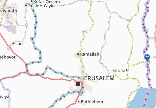 Mapas-Planos Ramallah