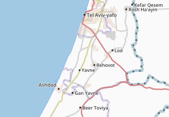 Kaart Plattegrond 'Ayanot