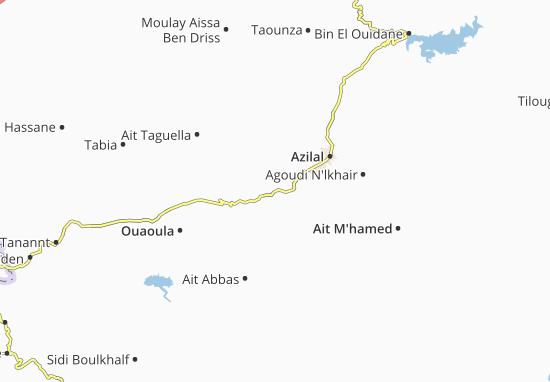 Carte-Plan Tamda Noumercid