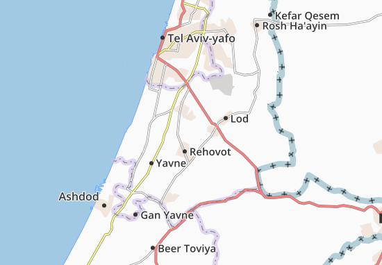 Mapas-Planos Nezer Sereni