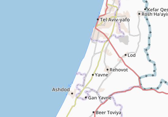Palmahim Map