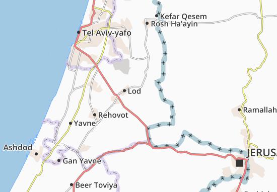 Kefar Daniyyel Map