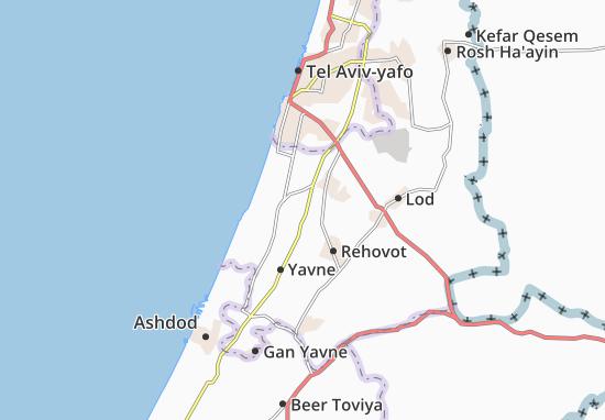 Carte-Plan Bet Hanan