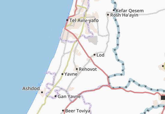 Mapas-Planos Be'Er Ya'Aqov