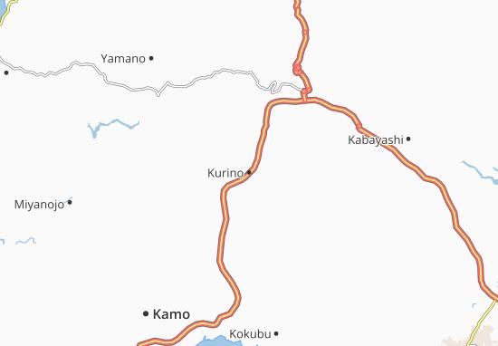 Kurino Map