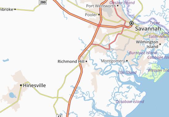Richmond Hill Map
