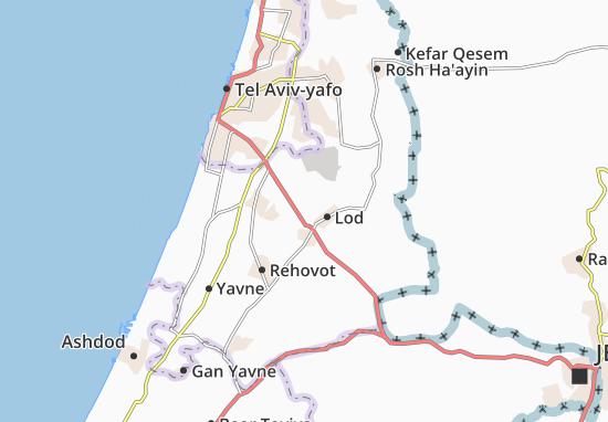 Nir Zevi Map