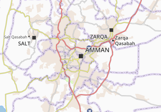Mapas-Planos Amman