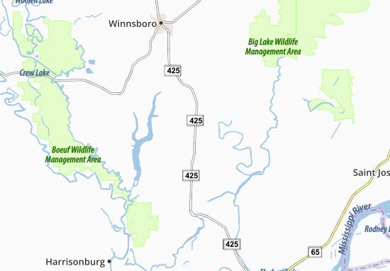 Wisner Map