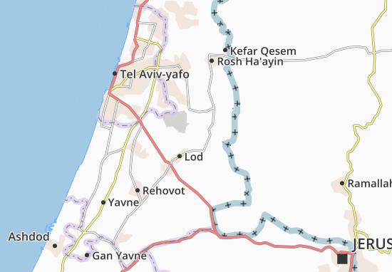 Mapas-Planos Kefar Truman