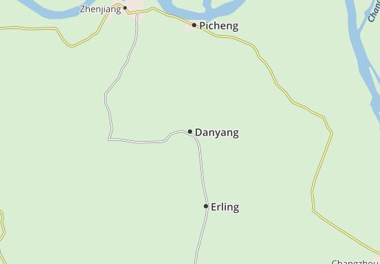 Mappe-Piantine Danyang