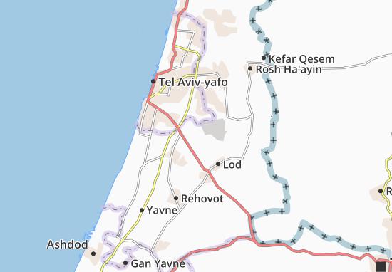 Karte Stadtplan Tohelet