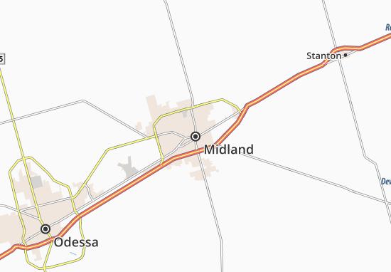 Carte-Plan Midland