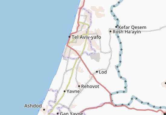 Bet Dagan Map