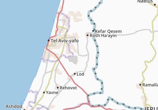 Bene 'Atarot Map