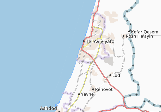 Bat Yam Map