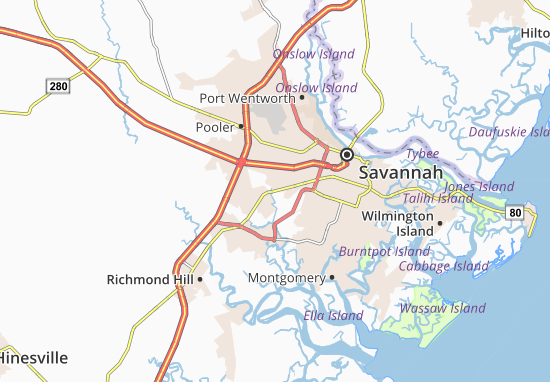 Silk Hope Map