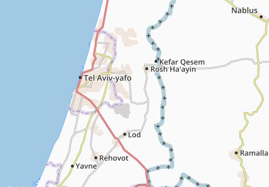 Kaart Plattegrond Nofekh