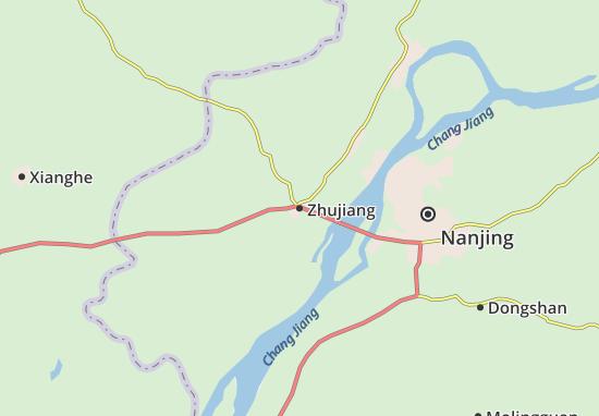 Zhujiang Map