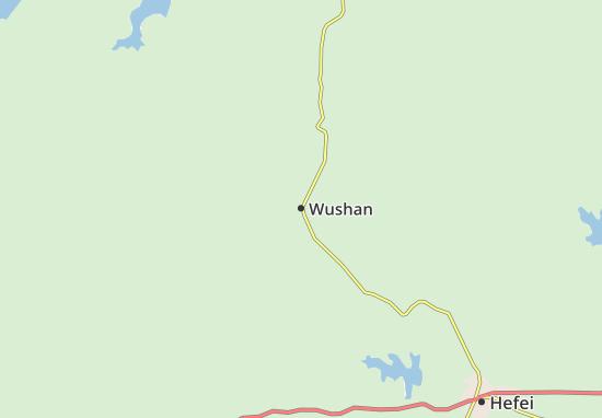 Kaart Plattegrond Wushan