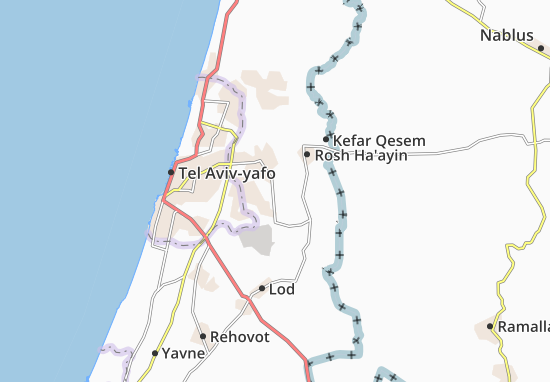 Kaart Plattegrond Nehalim