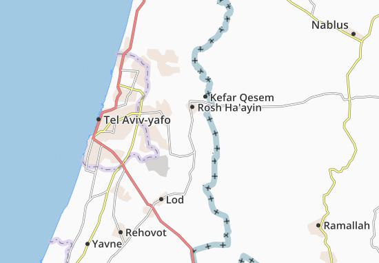 Nahshonim Map