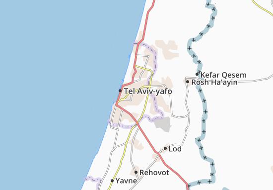 Giv'Atayim Map