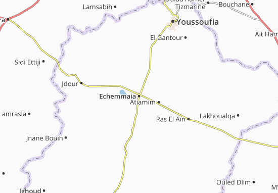 Mapa Plano Echemmaia