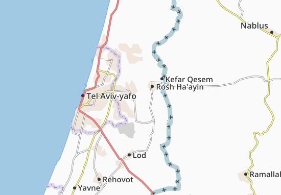 Mapas-Planos Kefar Sirkin