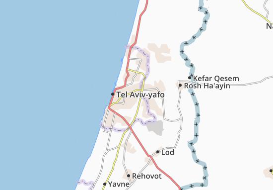 Kaart Plattegrond Bene Beraq